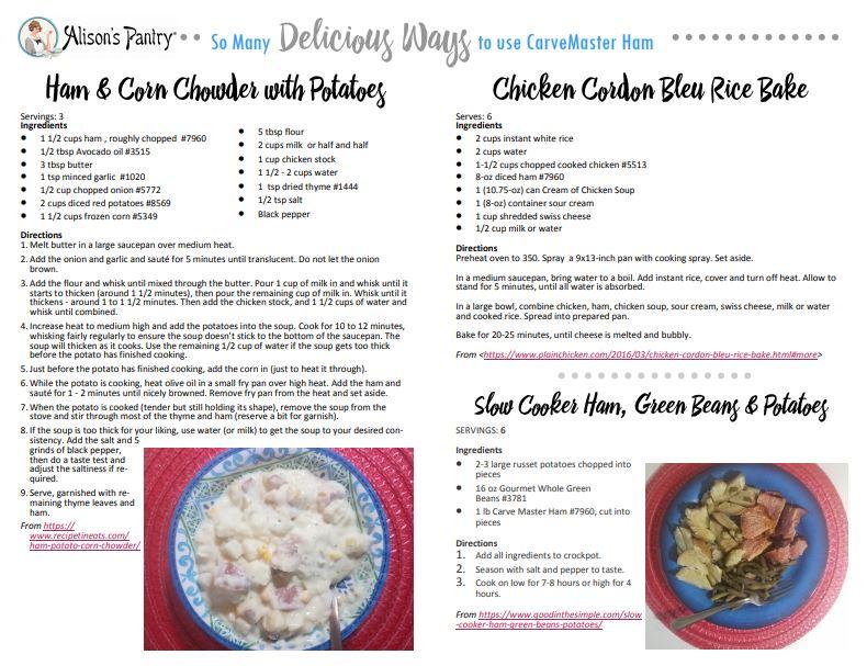 ham recipes image